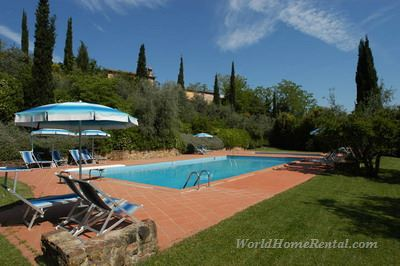 Apartment 4962: Apartment Montaione, Tuscany, Italy